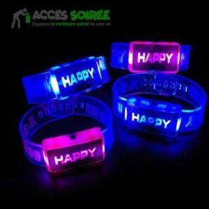 bracelet fluo soiree