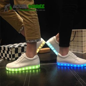 chaussure femme homme led