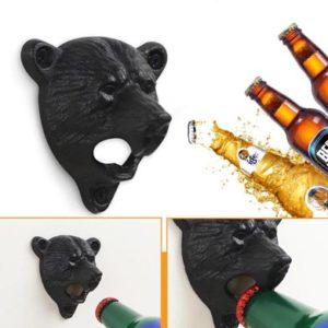 décapsuleur ours mural