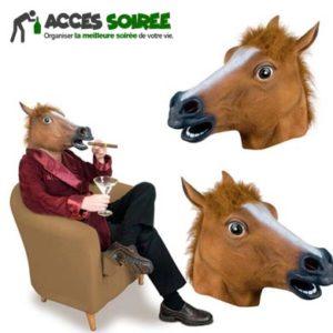 deguisement tete de cheval
