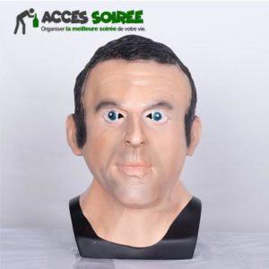 masque president francais